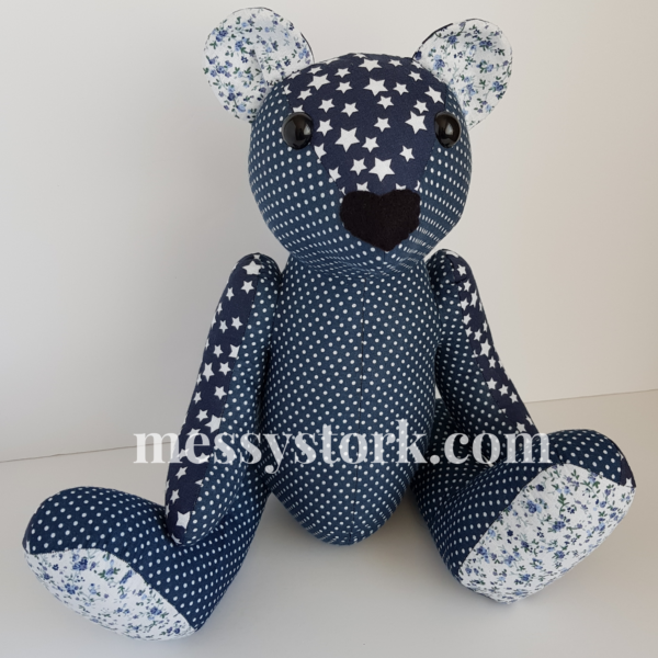 keepsake bear blue