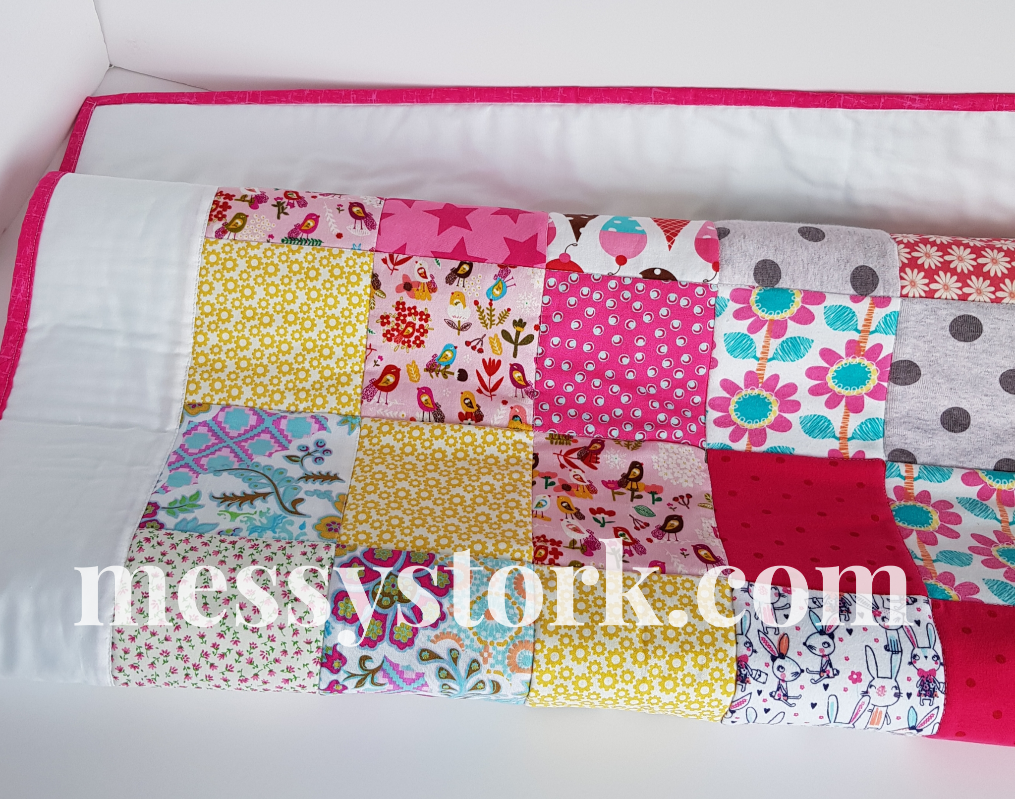 Memory Keepsake Cot Bed blanket from your clothing