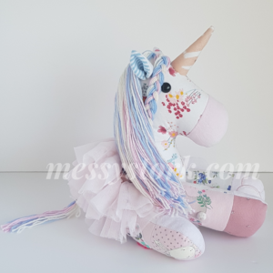 keepsake unicorn sitting