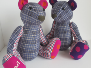 charlie bear sewing pattern examples