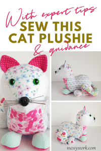 cat sewing pattern, cat sewing projects pin