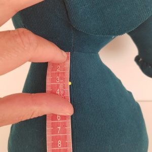 elephant sewing pattern with moveable arms and legs