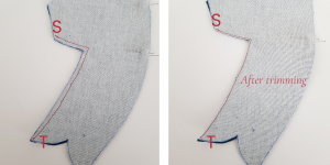how to sew an elephant's trunk sewing pattern