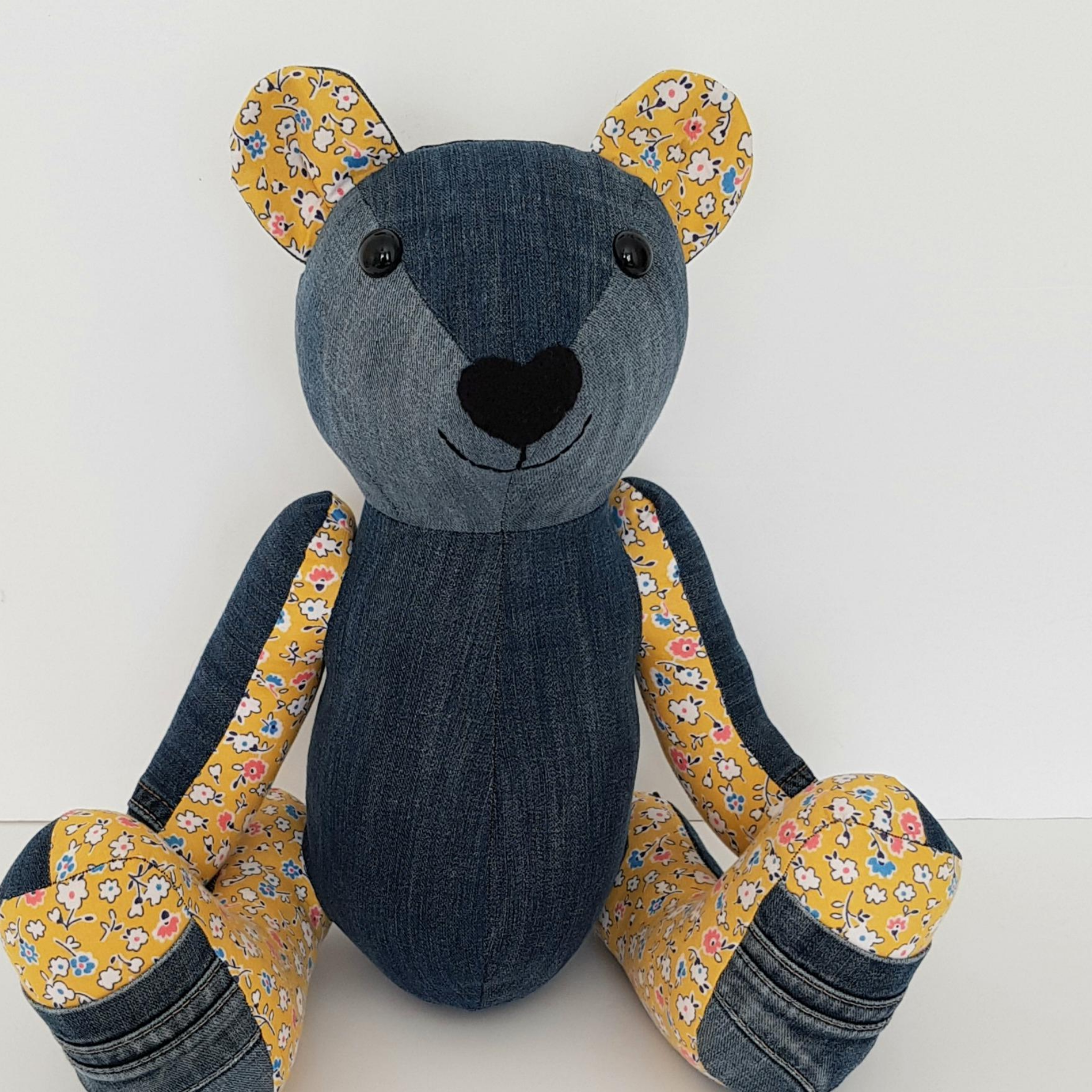 sewing pattern photo of charlie bear