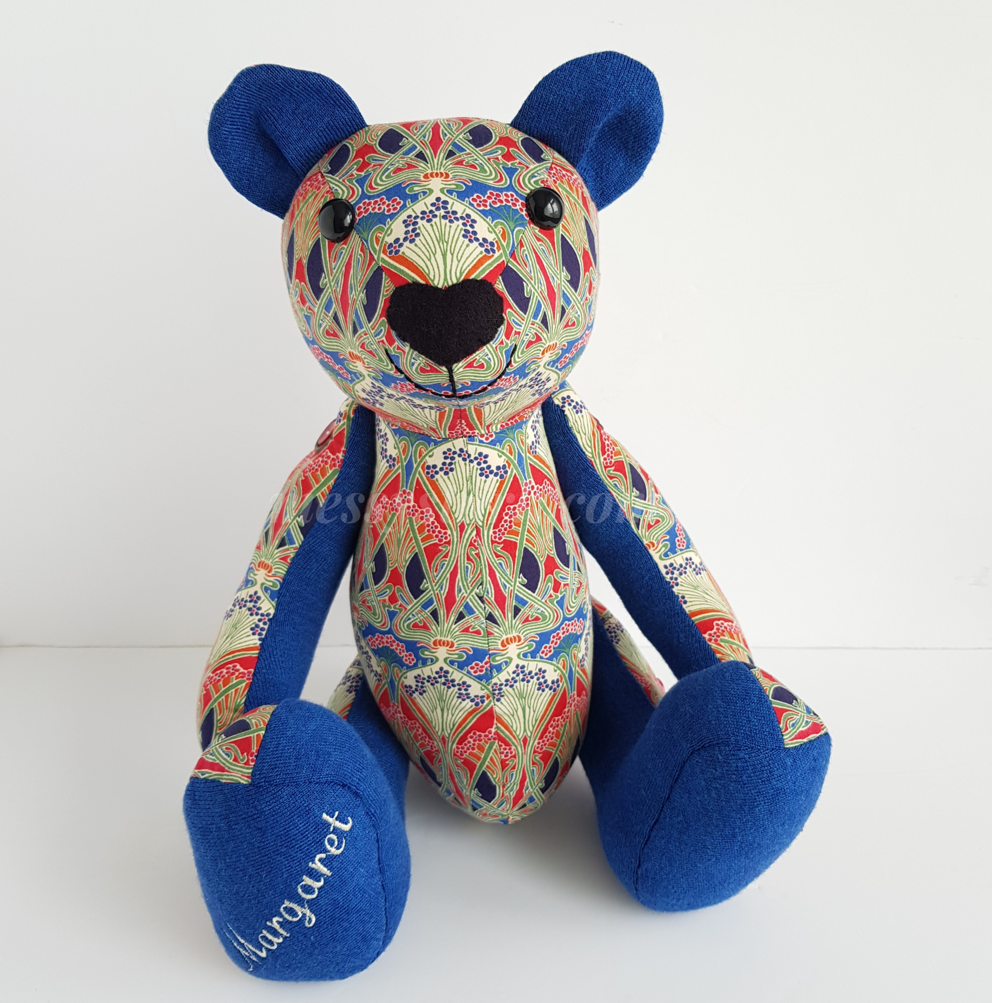 Keepsake Bear – made to my Charlie Bear pattern