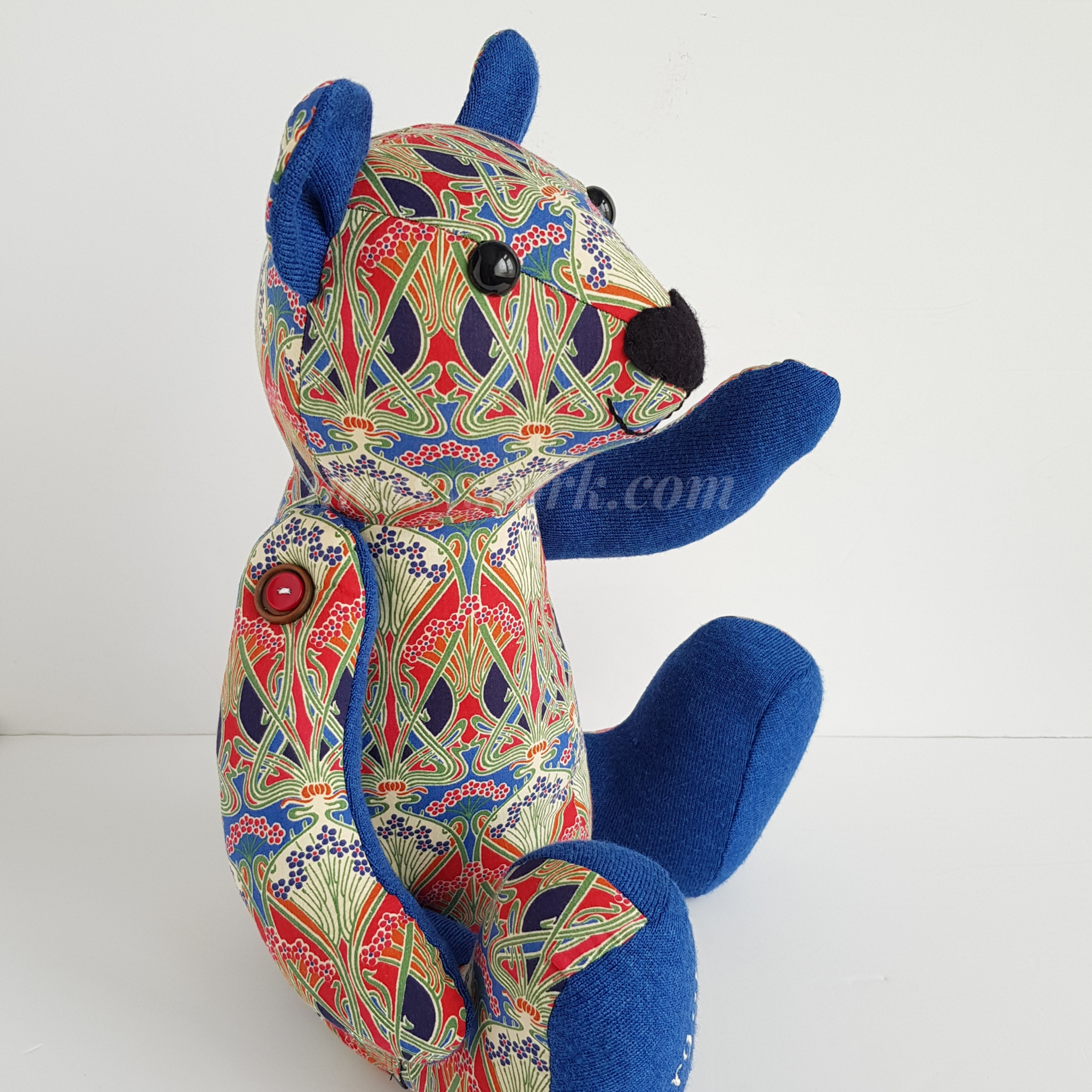 charlie bear sewing pattern with moveable arms