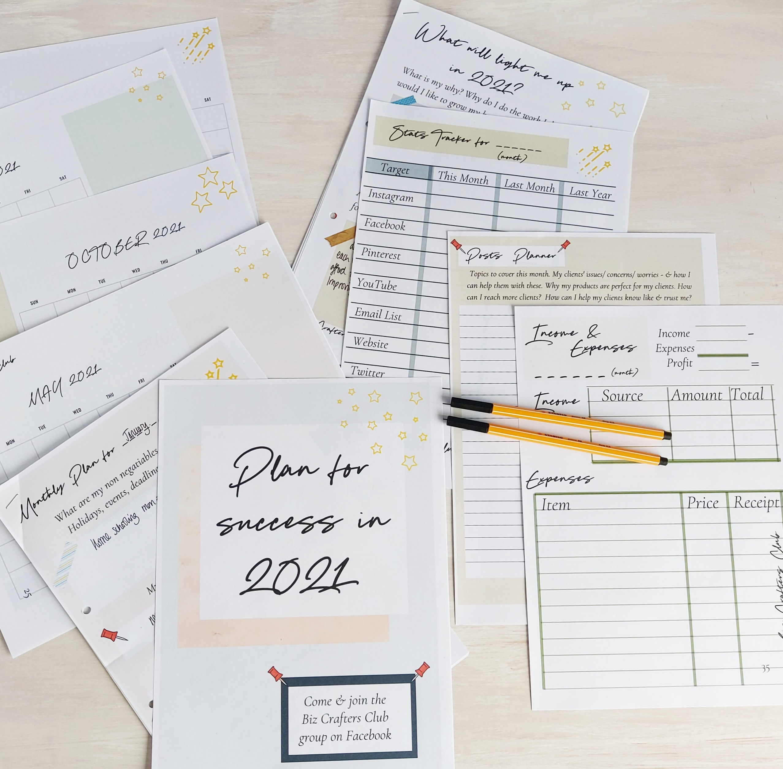 2021 business planner