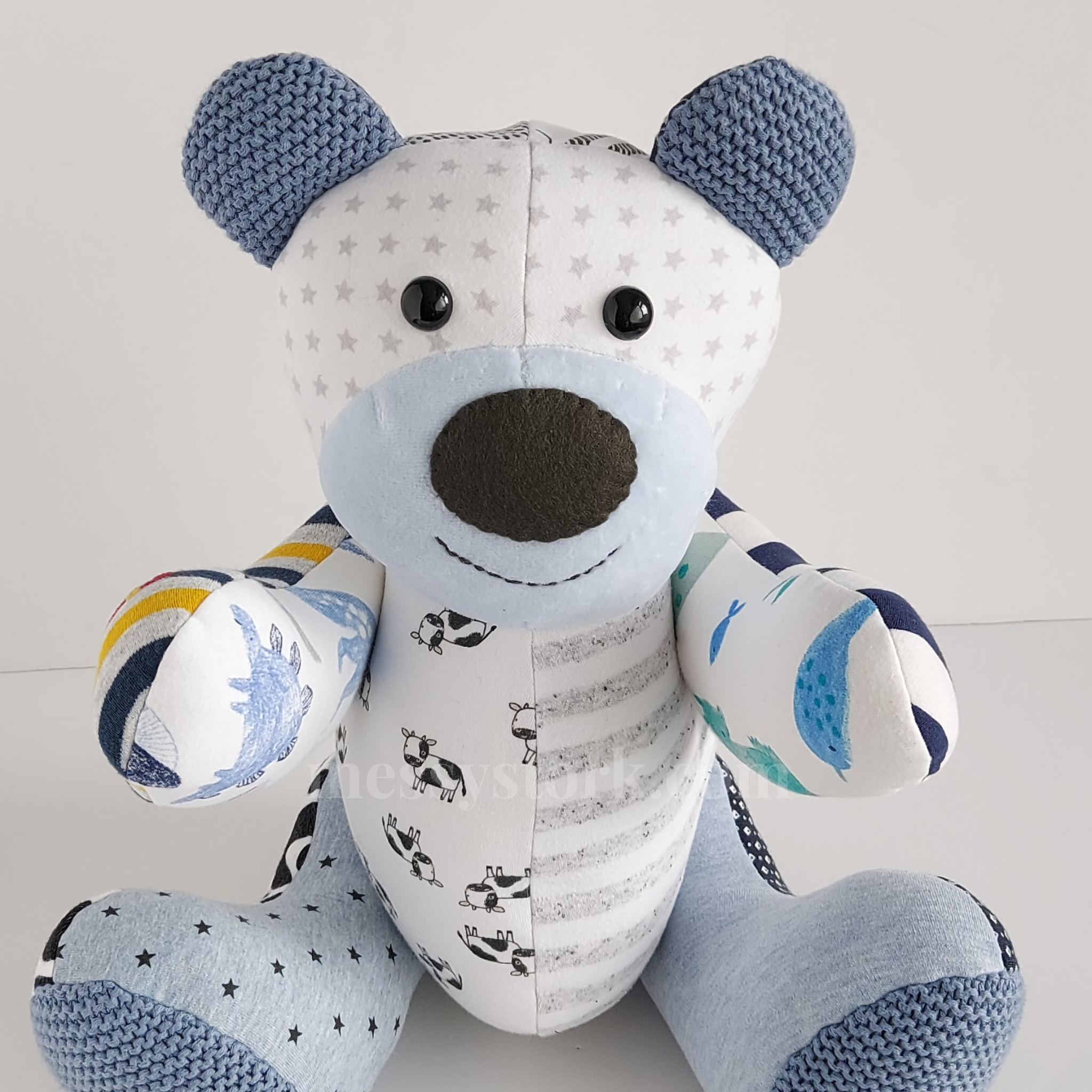 Betsy Bear – with moveable arms and legs