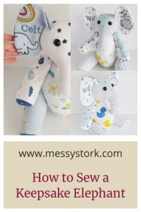 elephant sewing pattern with photos