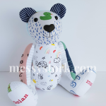 keepsake bear made from clothes