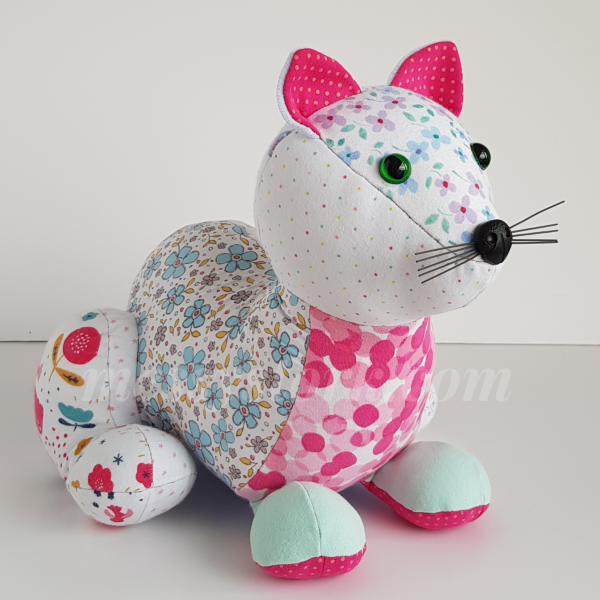 how to sew a cat sewing pattern