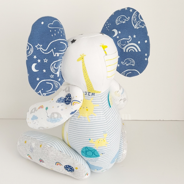 downloadable elephant sewing pattern