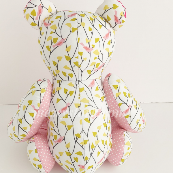 bear sewing pattern with tutorial