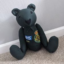 charlie bear photo in uniform