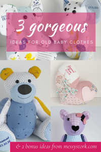 gorgeous ideas for what to do with out grown baby clothes