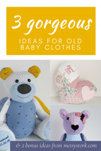5 ideas for what to do with old baby clothes