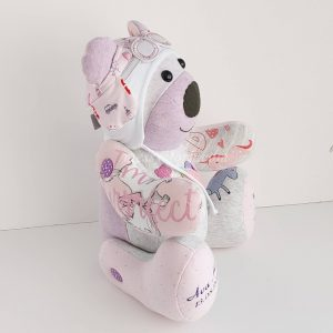 Betsy bear from the side