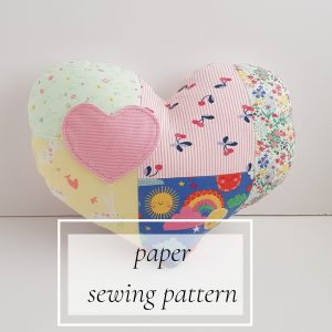 paper cushion sewing pattern
