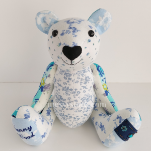 how to make a memory bear from old clothes