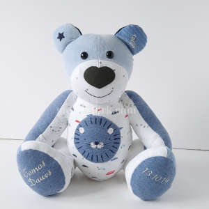 how to make a memory bear from baby clothes