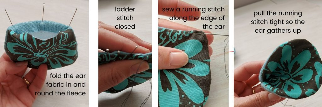how to sew a mouses ears sewing pattern